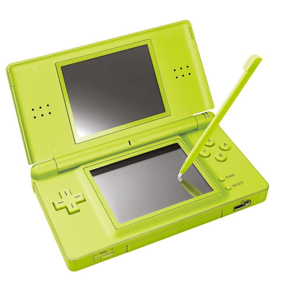 nintendo ds lite lcd dual screen microphone wireless handheld video game console ebay. Black Bedroom Furniture Sets. Home Design Ideas