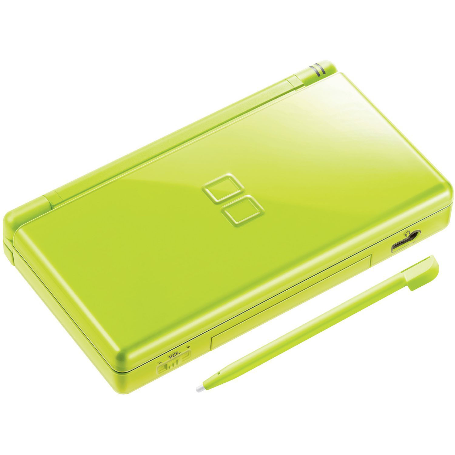 nintendo ds lite lcd dual screen wireless video game console lime green ebay. Black Bedroom Furniture Sets. Home Design Ideas