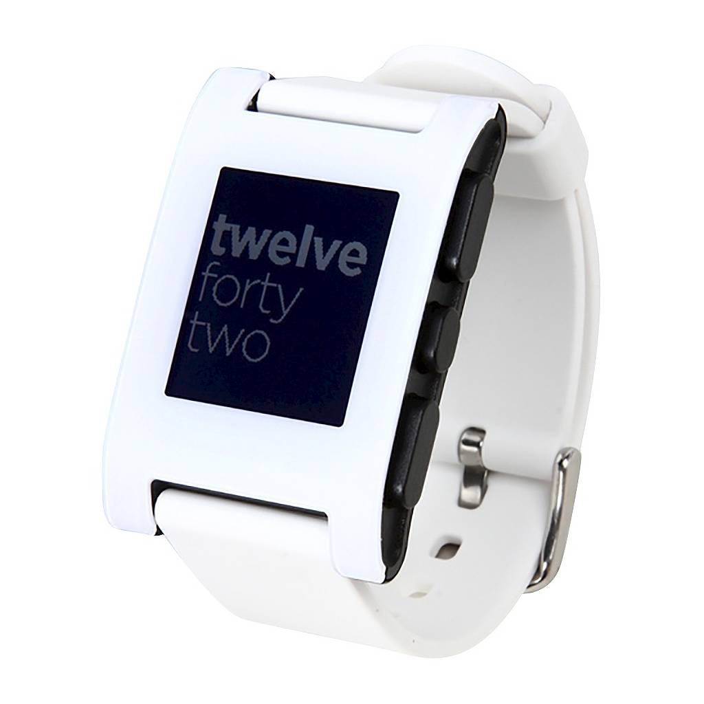Pebble Classic Bluetooth Smartwatch Rechargeable and ...