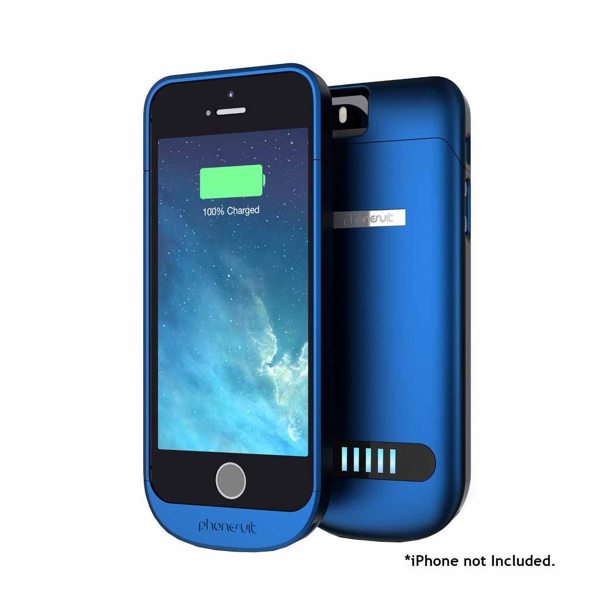 phonesuit elite 5 iphone 5 5s battery protective case 2100mah fast charger ebay. Black Bedroom Furniture Sets. Home Design Ideas