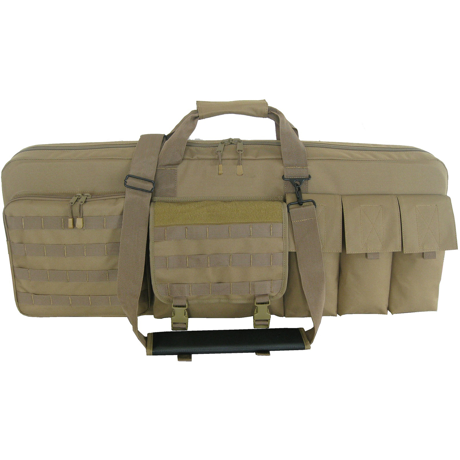 "Every Day Carry 46"" Triple Rifle Soft Case with Detachable Extension Mat"