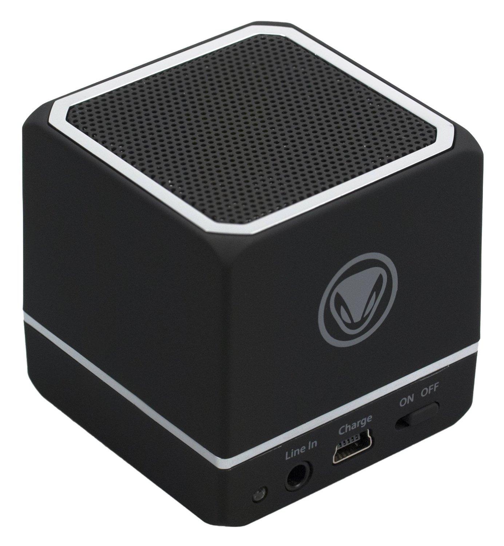 Snakebyte Audio Cube Rechargeable Bluetooth Wireless Speaker W/3.5 Mm Jack