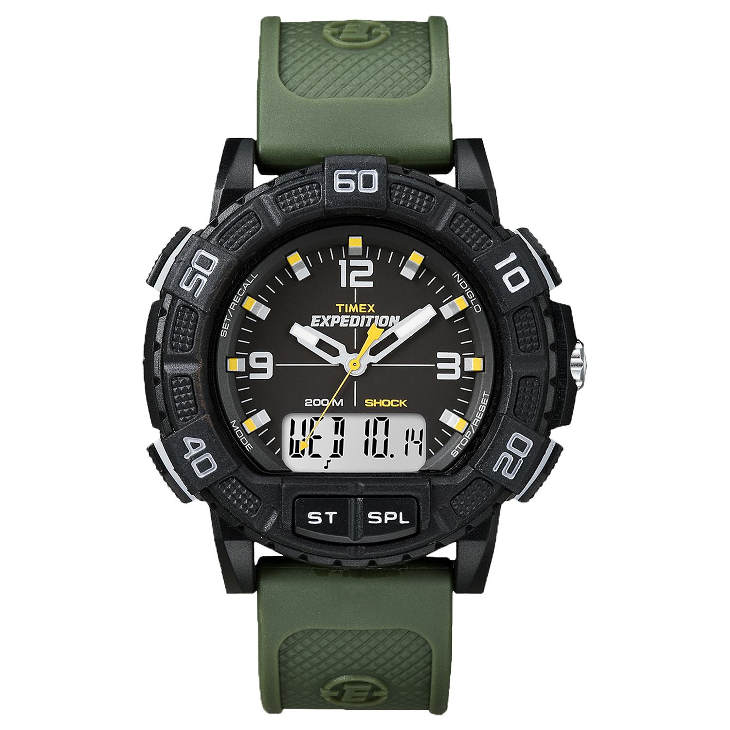 TIMEX T45181 Expedition WR 100m Resin Combo Review - YouTube