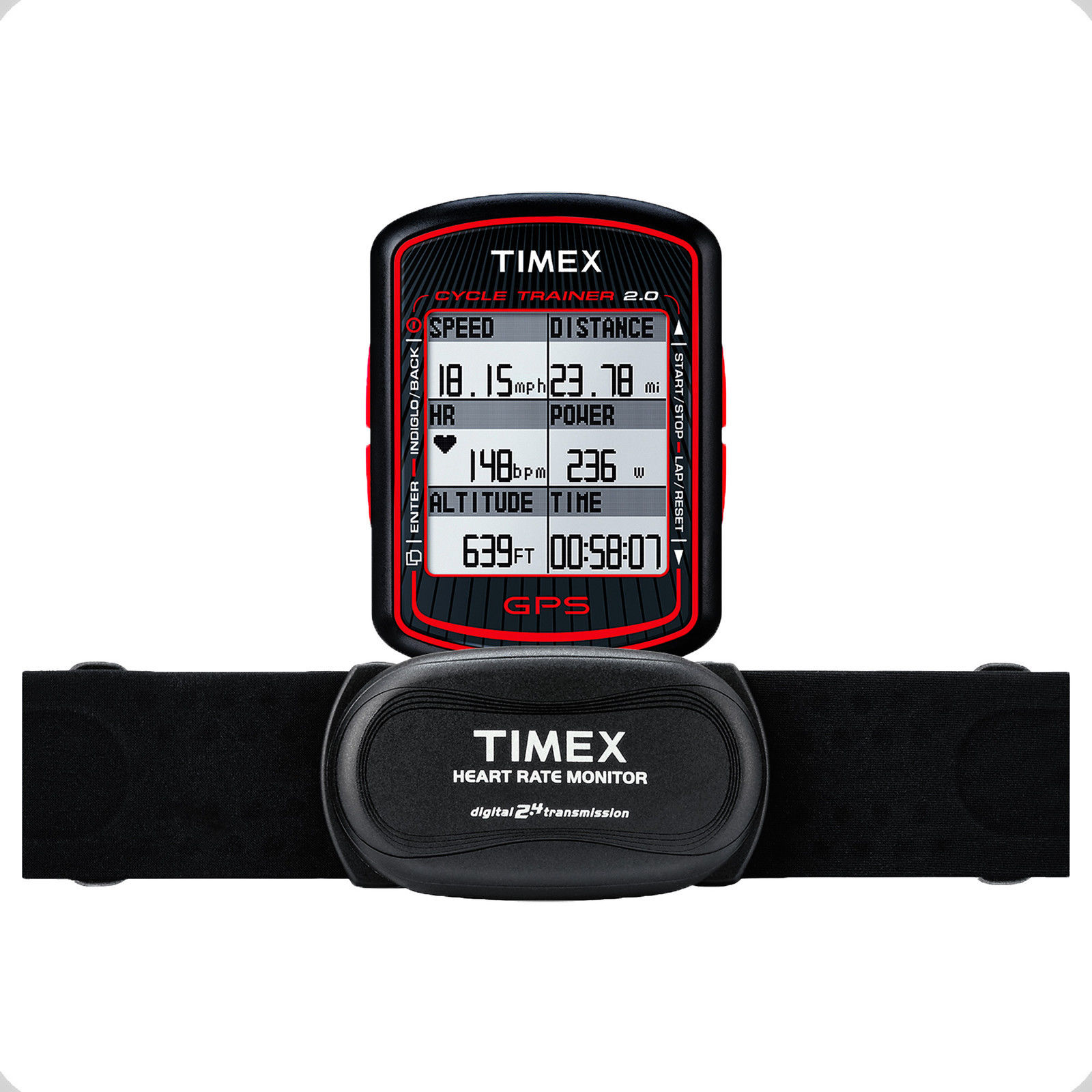 how to set time on timex ironman gps