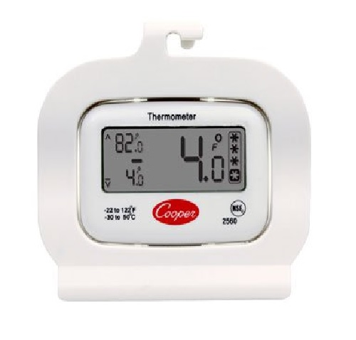 Cooper 2560 Digital Refrigerator/ Freezer Thermometer at Sears.com
