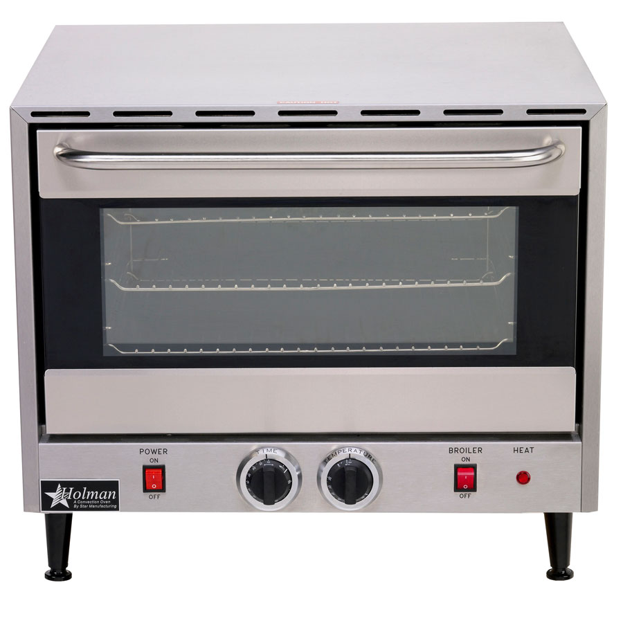 ... Commercial Electric Convection Oven 3 Rack Single Half Size Countertop