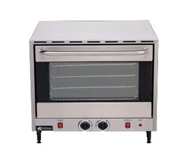 ... Electric Convection Oven 4 Rack Single Half Size Countertop eBay