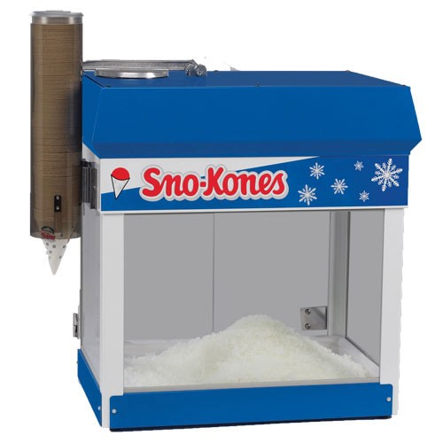 used snow cone machine