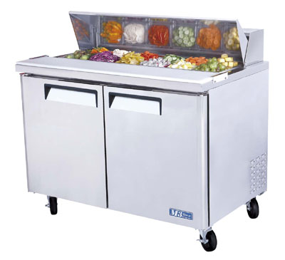 TURBO AIR 2DR SANDWICH SALAD PREP TABLE PIZZA MST-48 at Sears.com