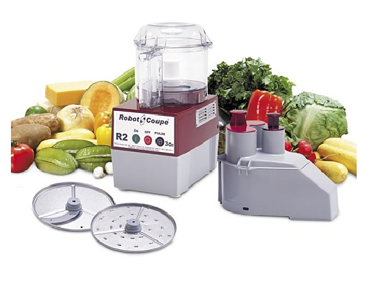 Robot Coupe R2n Commercial Food Processor 3 Qt Gray 120v