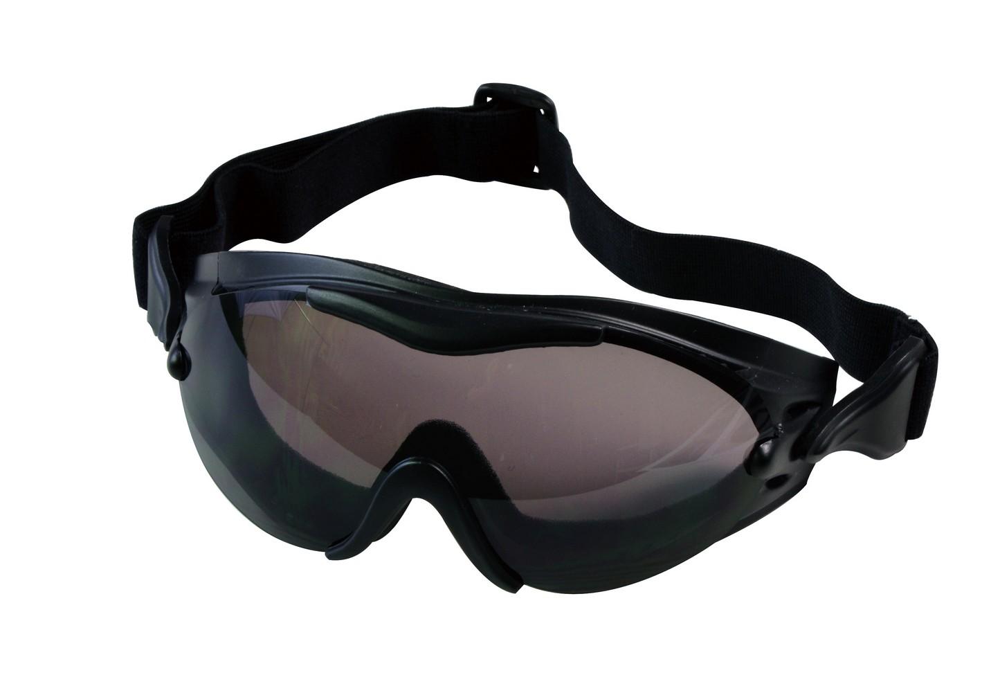 Rothco Tactical Goggles - SWAT Tec Single Lens, Black by Rothco