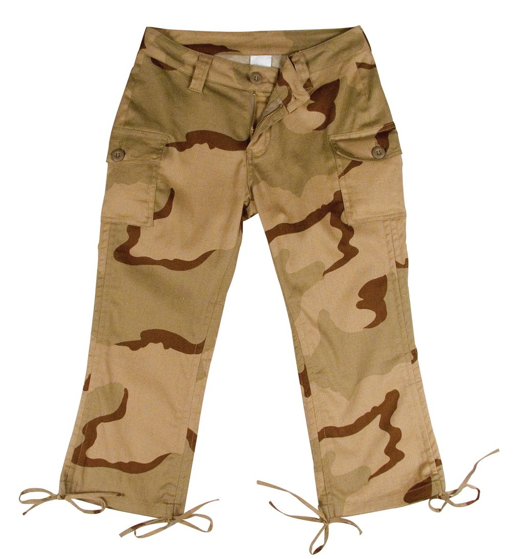 Rothco Juniors Capri Pants - Camouflage, Tri Color Desert Camo by Rothco at Sears.com