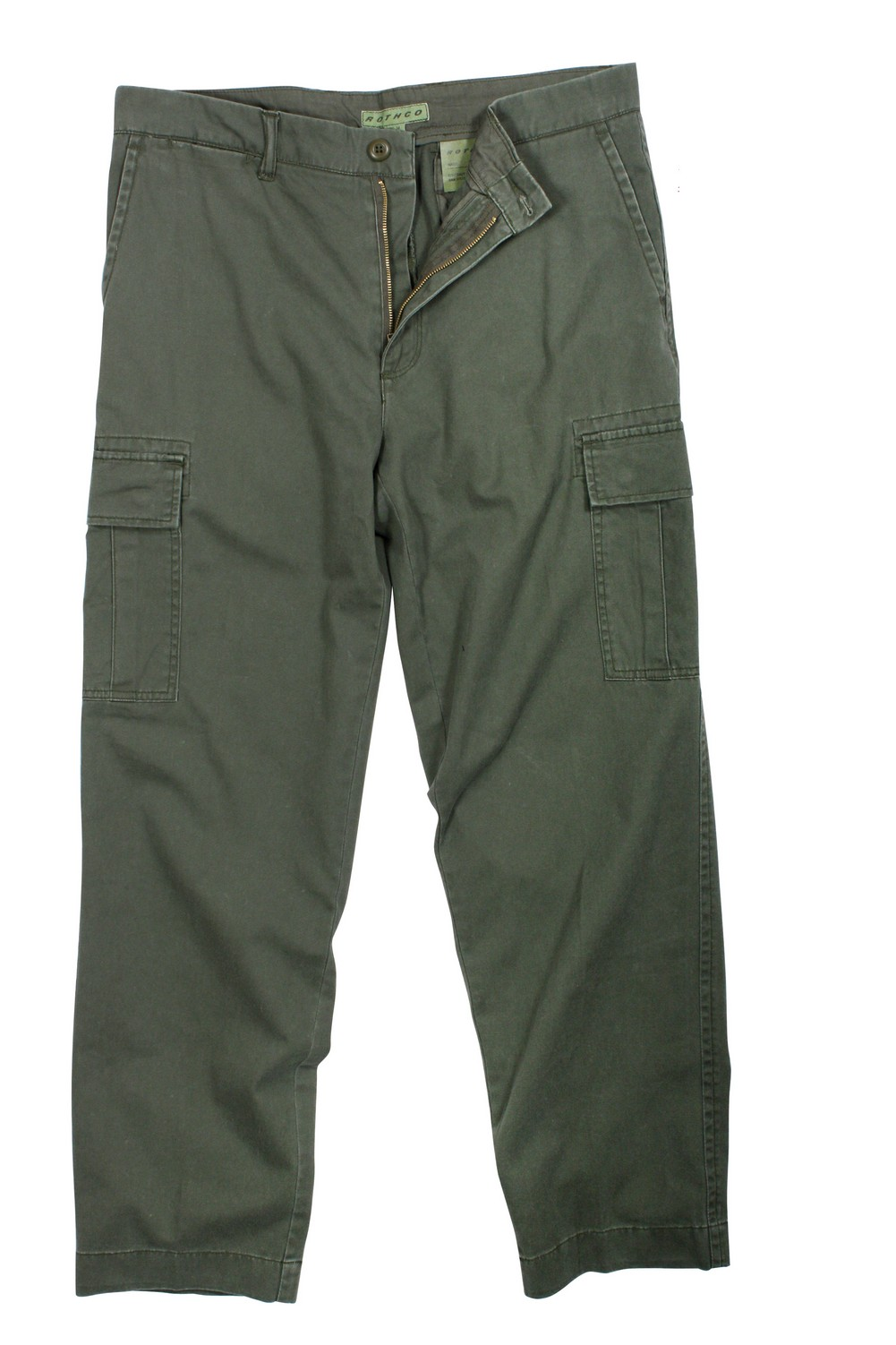 Rothco Mens Pants - Vintage Flat Front Cargo, Olive Drab by Rothco at Sears.com
