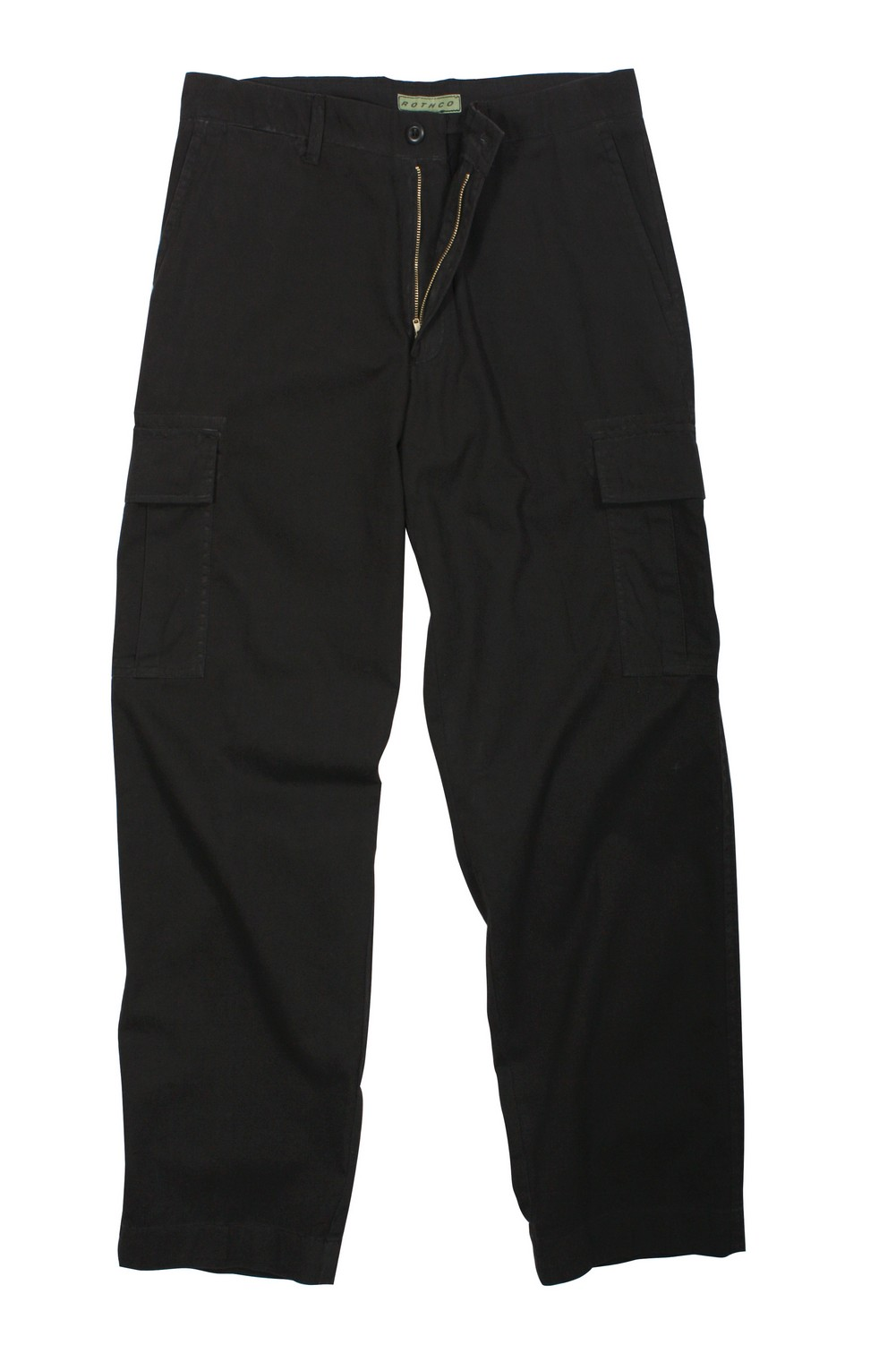 Rothco Mens Pants - Vintage Flat Front Cargo, Black by Rothco at Sears.com