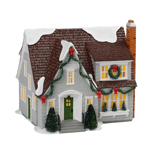 Dept 56 Department 56 Snow Village Lynnhaven House Gray 2013 at Sears.com