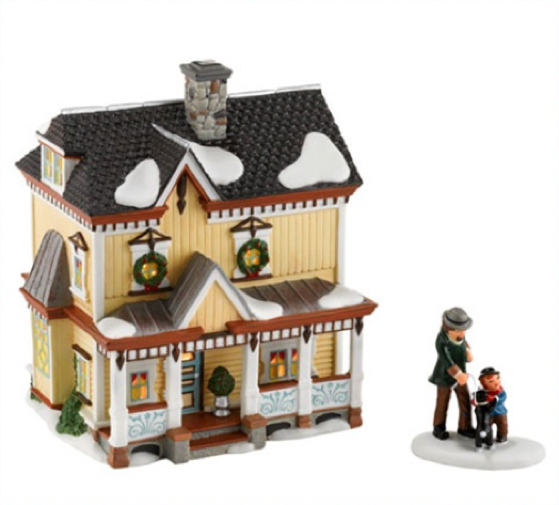 Department 56 New England Village Lakeshore Holiday House at Sears.com