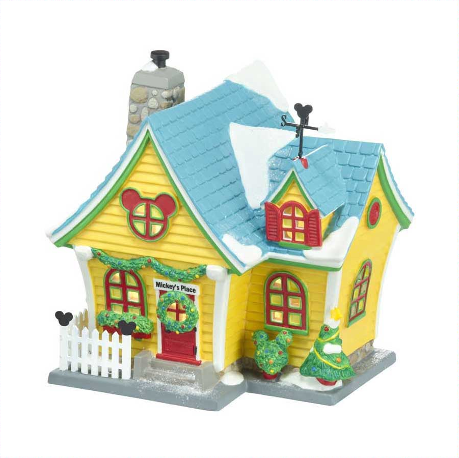 Dept 56 Department 56 Disney Village Mickey's House at Sears.com