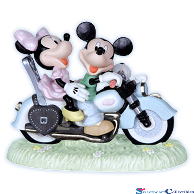 Precious Moments Disney Mickey And Minnie Mouse On