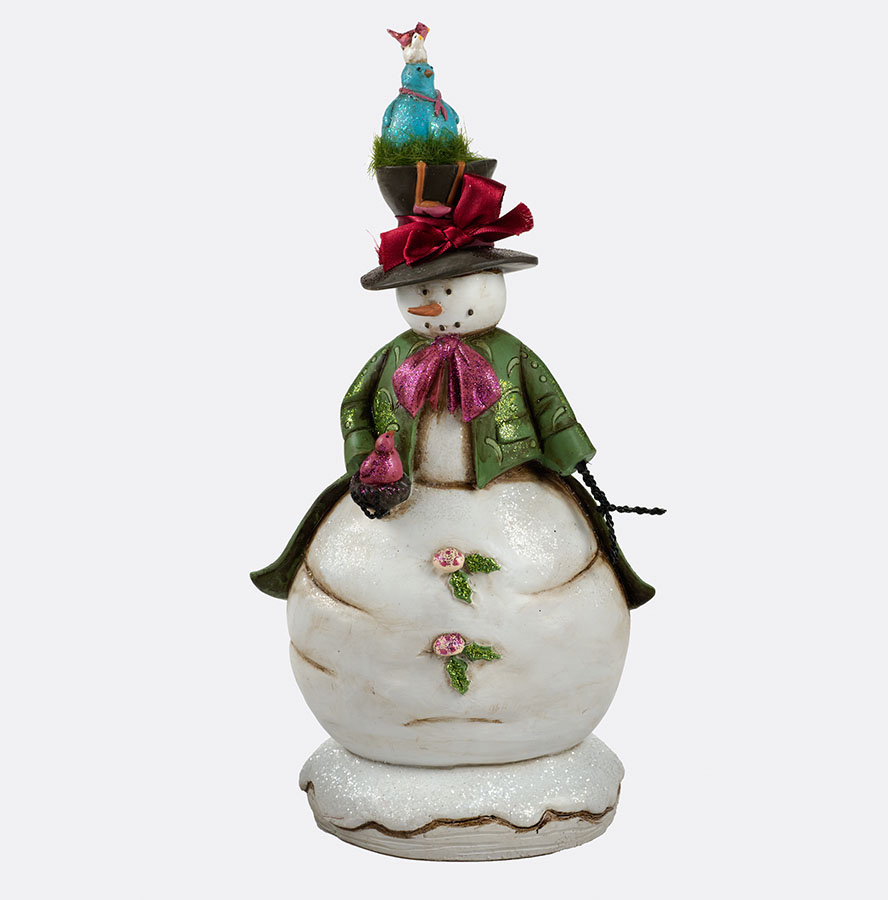Dept 56 Department 56 Whimsical Enchanted Snowman with Birds Figure at Sears.com