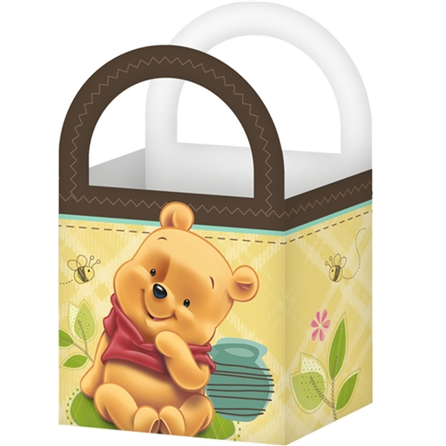 Winnie The Pooh Baby Shower Mini Treat Box 8 Each