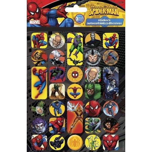 Spiderman stickers spider sense autocollants adhesivos for Autocollant mural