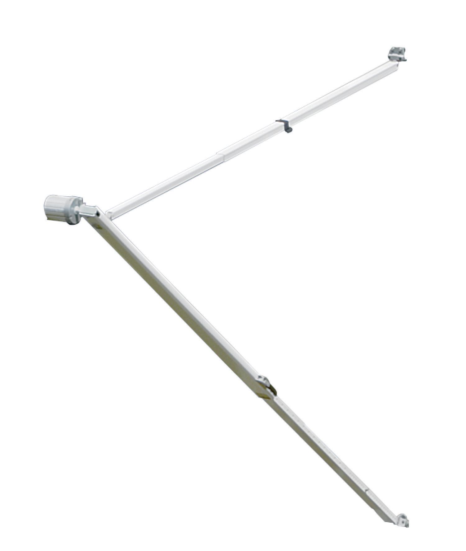 Dometic 8271000.401B Sunchaser Awning Hardware Polar White