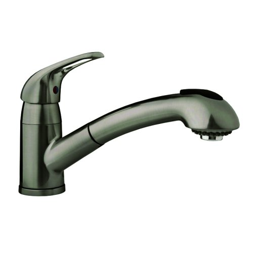 Dura faucet df nmk851 sn pull out rv kitchen faucet - Rv kitchen sink faucet ...