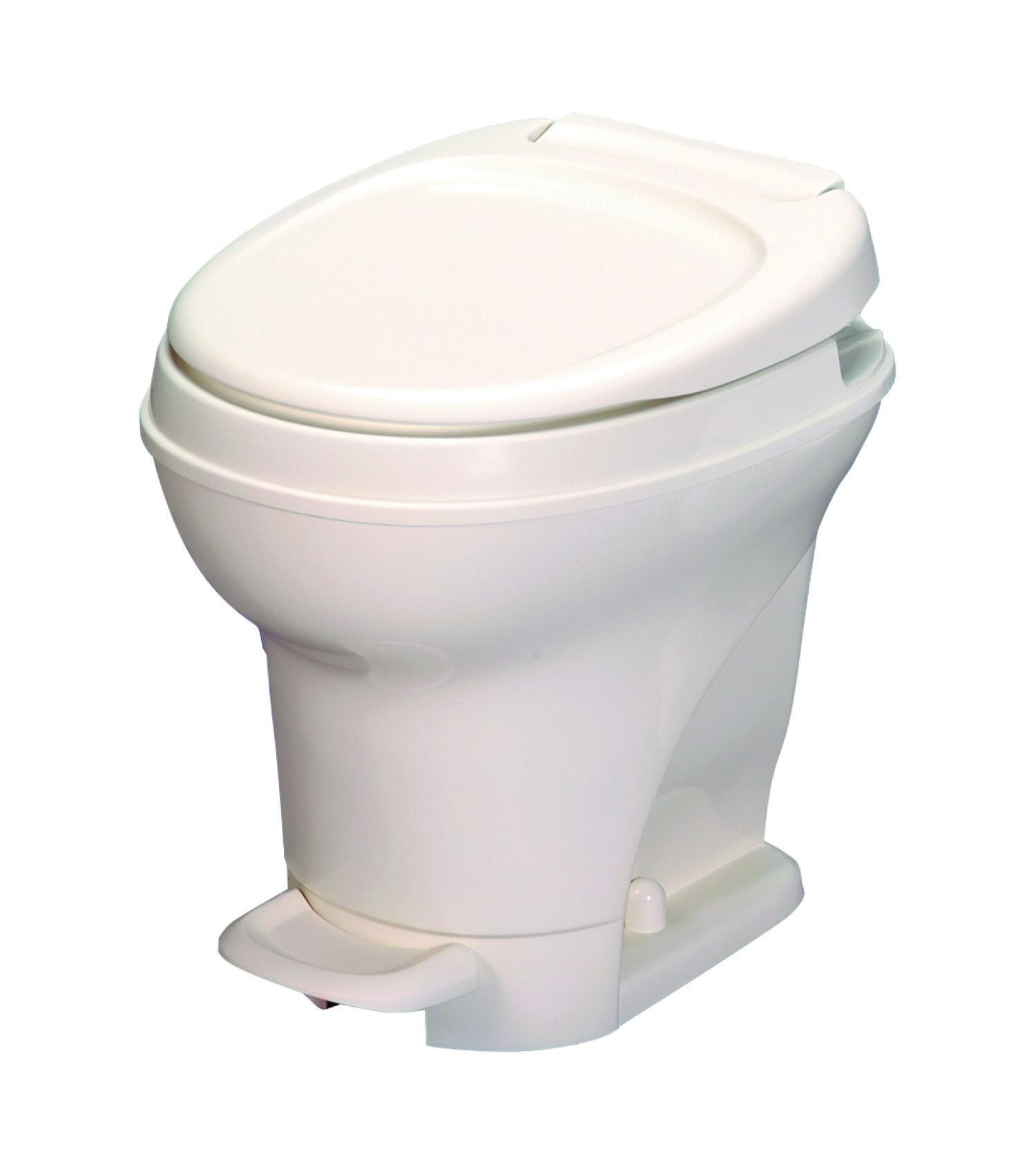 thetford 31671 aquamagic v toilet high pedal flush white ebay. Black Bedroom Furniture Sets. Home Design Ideas