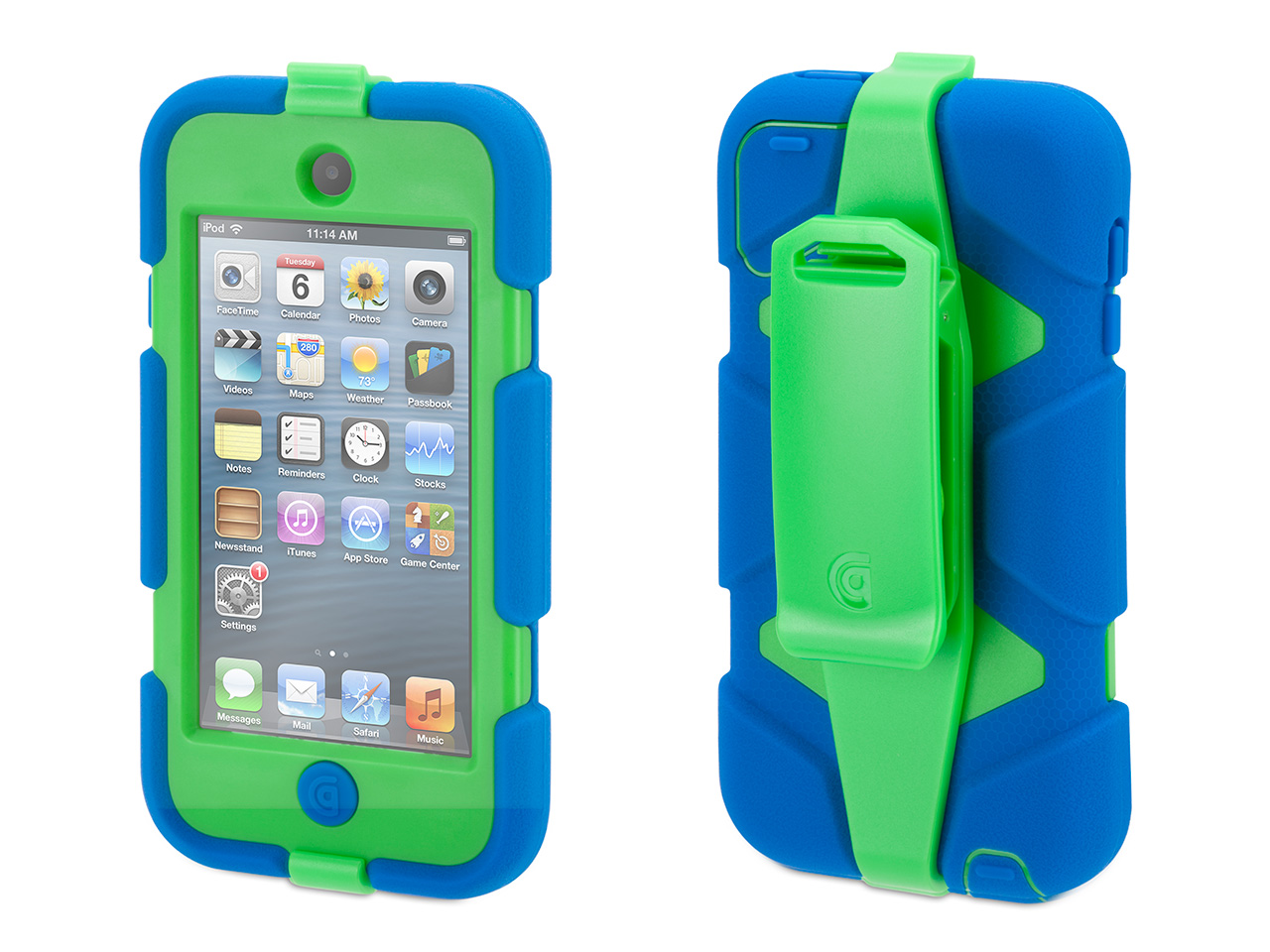 Griffin-iPod-Touch-5th-6th-Gen-Rugged-Case-Survivor-All-Terrain-Case-Belt-Clip
