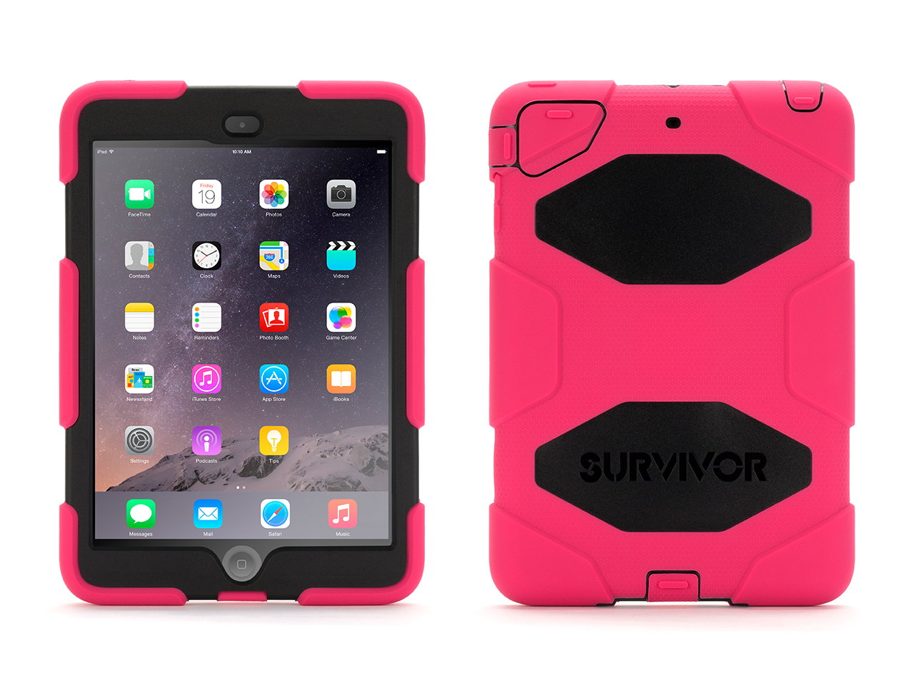 Griffin Survivor All-Terrain Heavy-Duty Case + Stand for iPad mini, mini 2, & mini 3-Military-duty case with stand at Sears.com