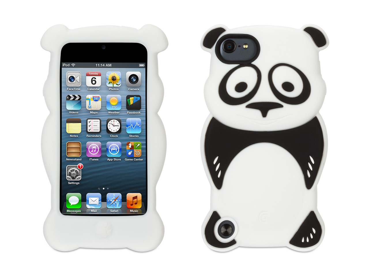 panda kazoo kids case for ipod touch 5th 6th gen. Black Bedroom Furniture Sets. Home Design Ideas