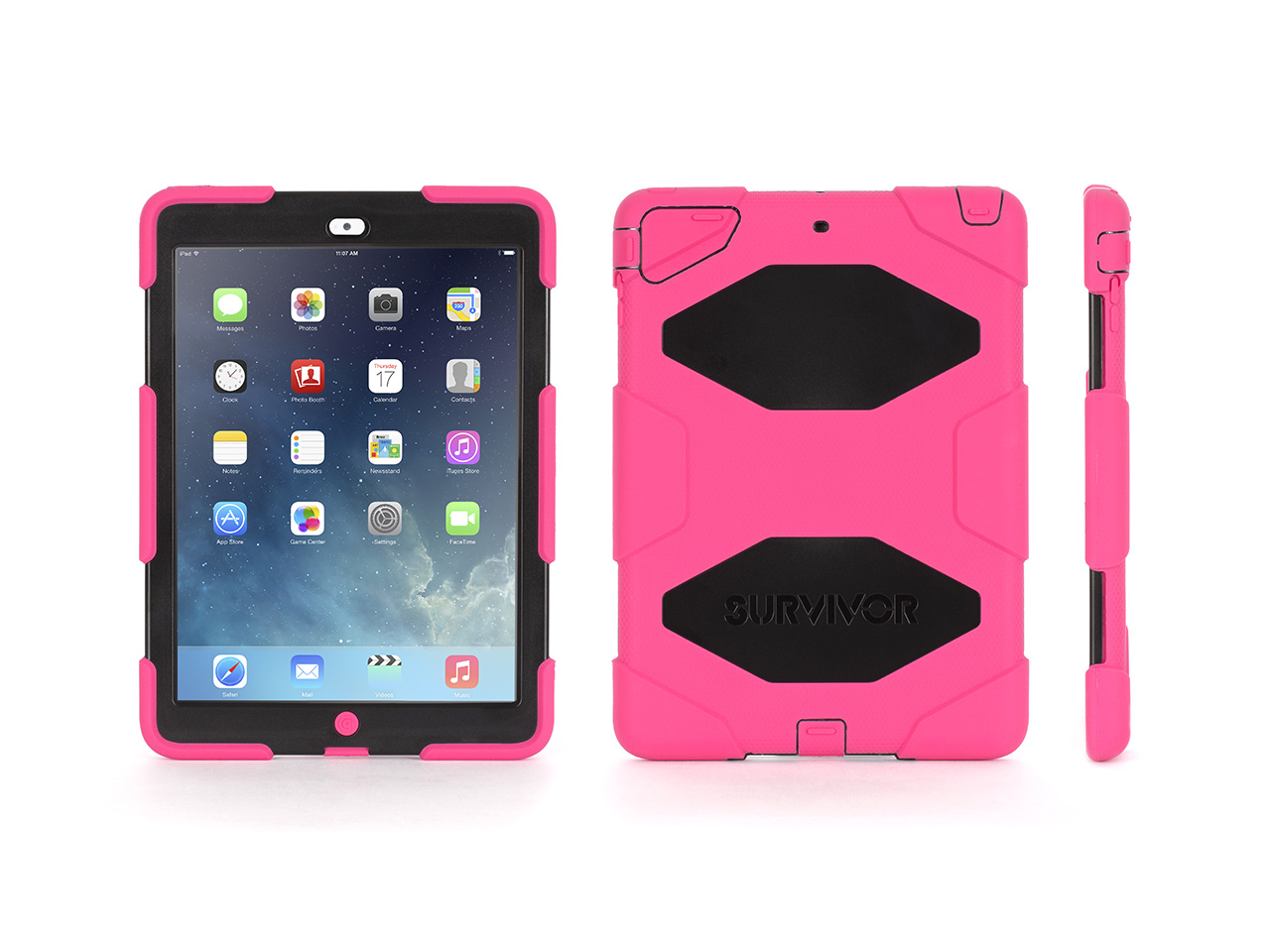 Griffin Survivor All-Terrain Case + Stand for iPad Air-Military-Duty Case- Direct from Griffin at Sears.com