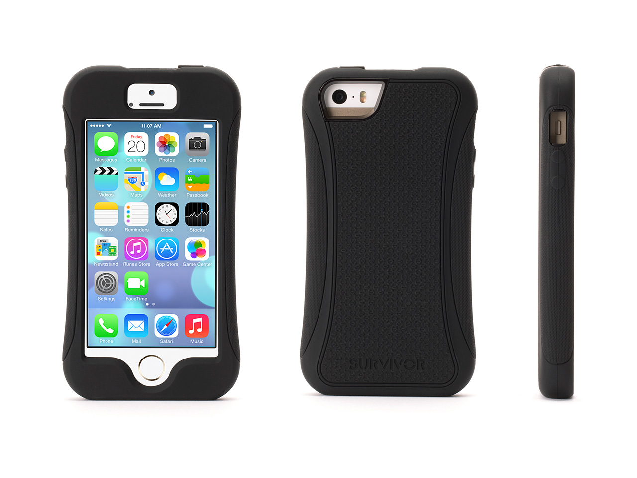griffin iphone 5 5s iphone se slim protective case. Black Bedroom Furniture Sets. Home Design Ideas
