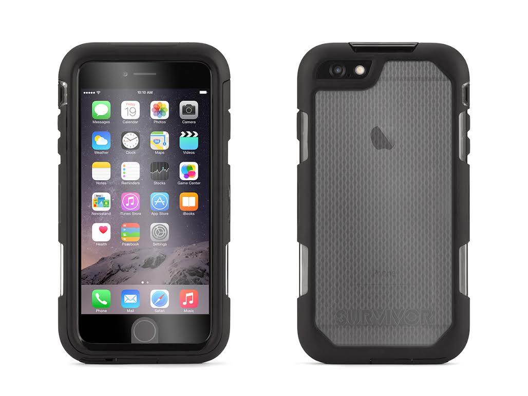 griffin iphone 6 plus 6s plus rugged case survivor extreme 10ft drop protection ebay. Black Bedroom Furniture Sets. Home Design Ideas
