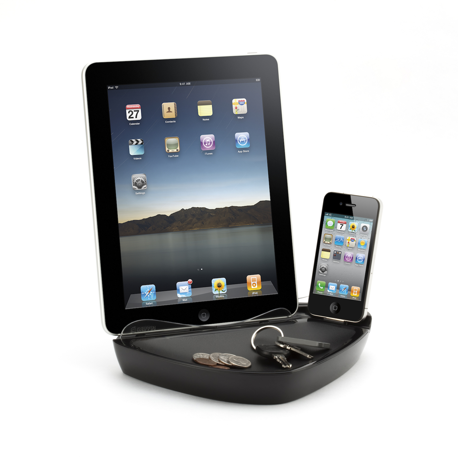 Griffin PowerDock Dual Charging Dock for iPad and other Apple Devices-Recharge, Organize Multiple devices at Sears.com