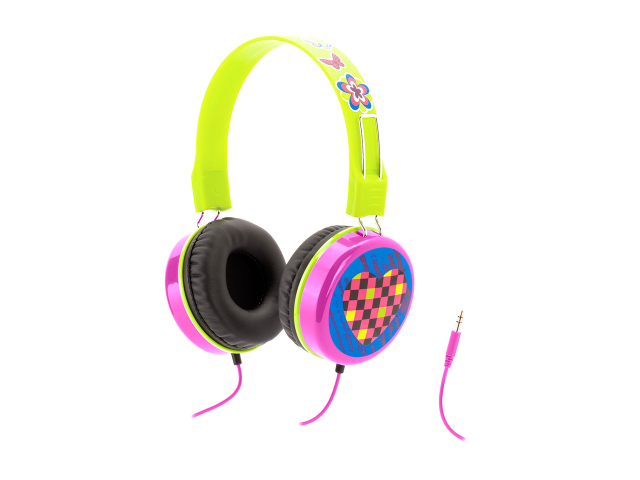 Griffin Pink Crayola MyPhones Kids Volume-limiting Headphones-Color, Create & Listen Safely! at Sears.com