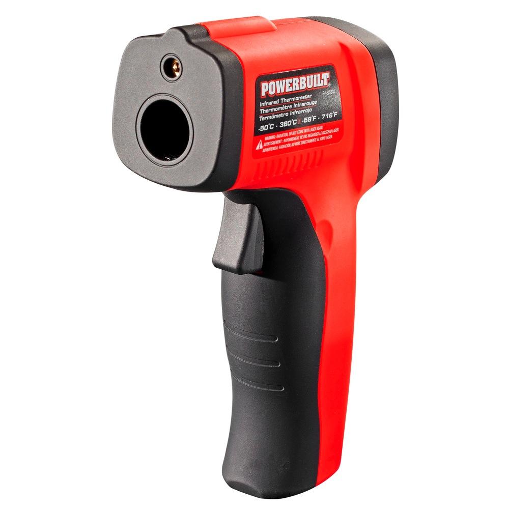 Powerbuilt Temperature Gun Infrared Non Contact Laser