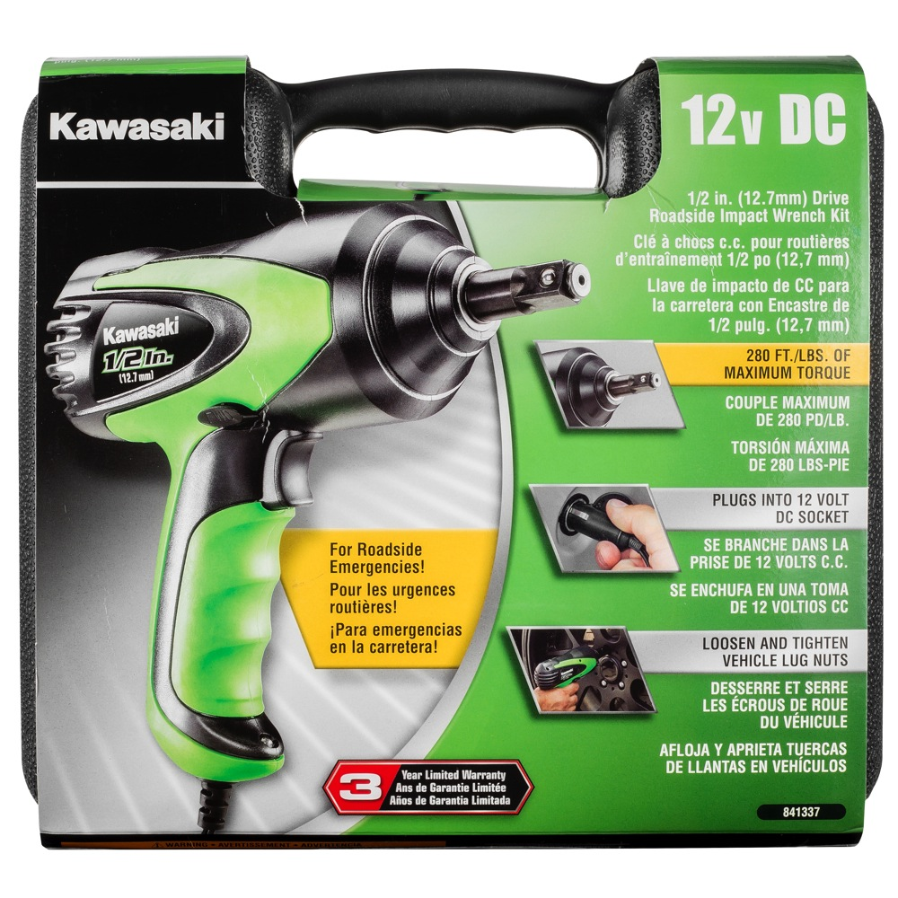 Kawasaki   V Impact Wrench Kit