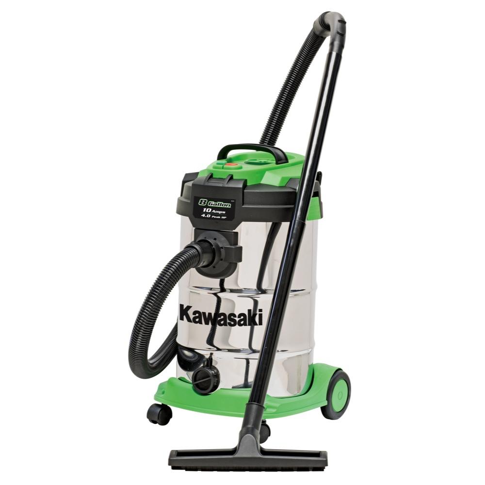 Kawasaki   Stainless Wet Dry Vacuum Hepa