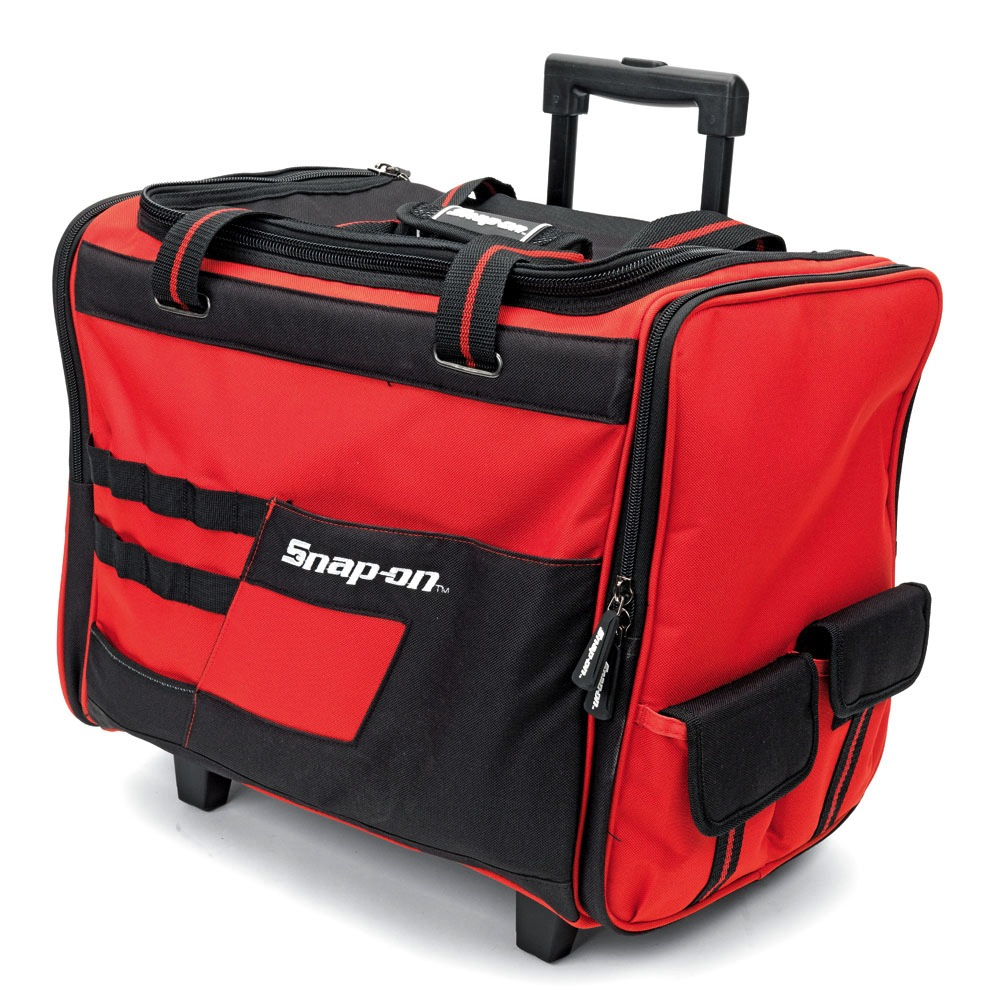 snap on 18 wide mouth rolling tool bag w telescoping. Black Bedroom Furniture Sets. Home Design Ideas