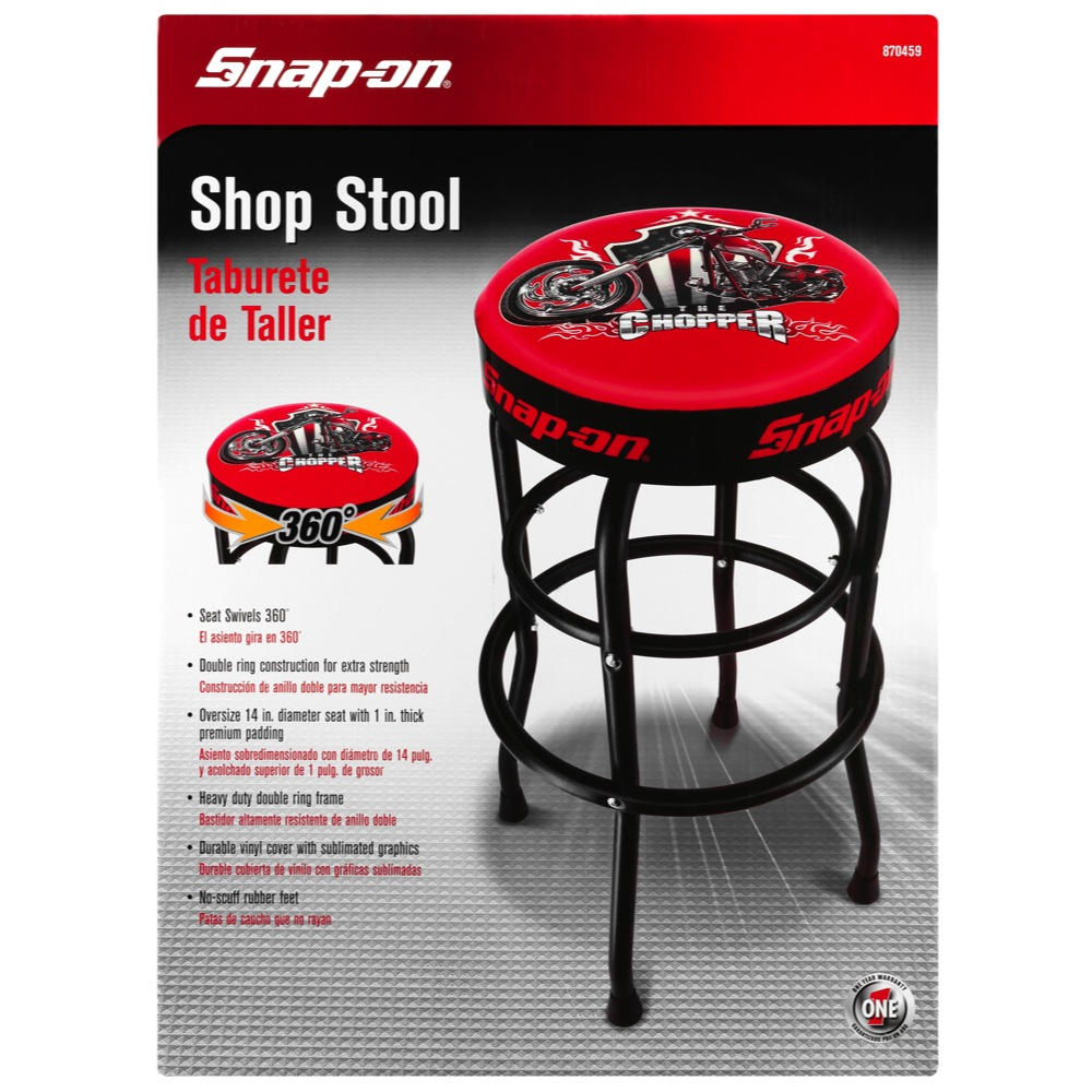 Snap on174 Garage Shop Swivels 360 Degree Bar Stool With  : 870459v1front from www.ebay.com size 1000 x 1000 jpeg 230kB