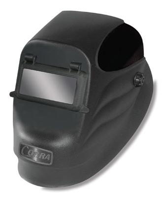 Radnor Black 24Pf Lift Front Welding Helmet