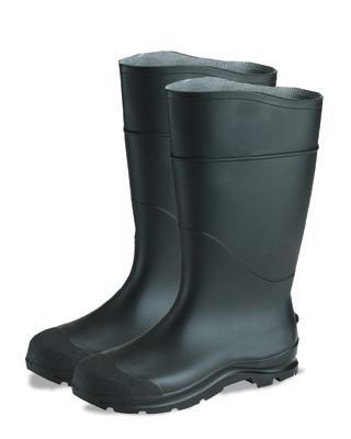 Radnor Economy PVC Steel Toe Boot - Black Size 6 - 64055860 at Sears.com