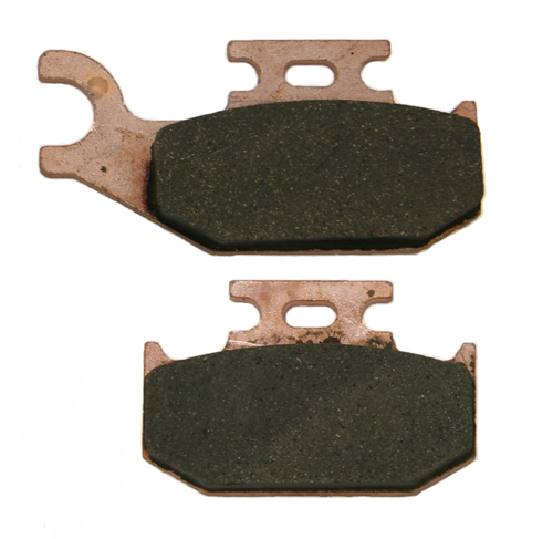 rear severe duty brake pads yamaha rhino 660 4x4 2004 2005