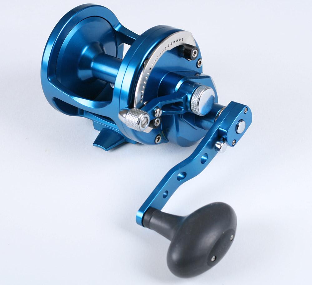 Avet lx 6 3 mc raptor 2 speed lever drag casting reels ebay for Avet fishing reels