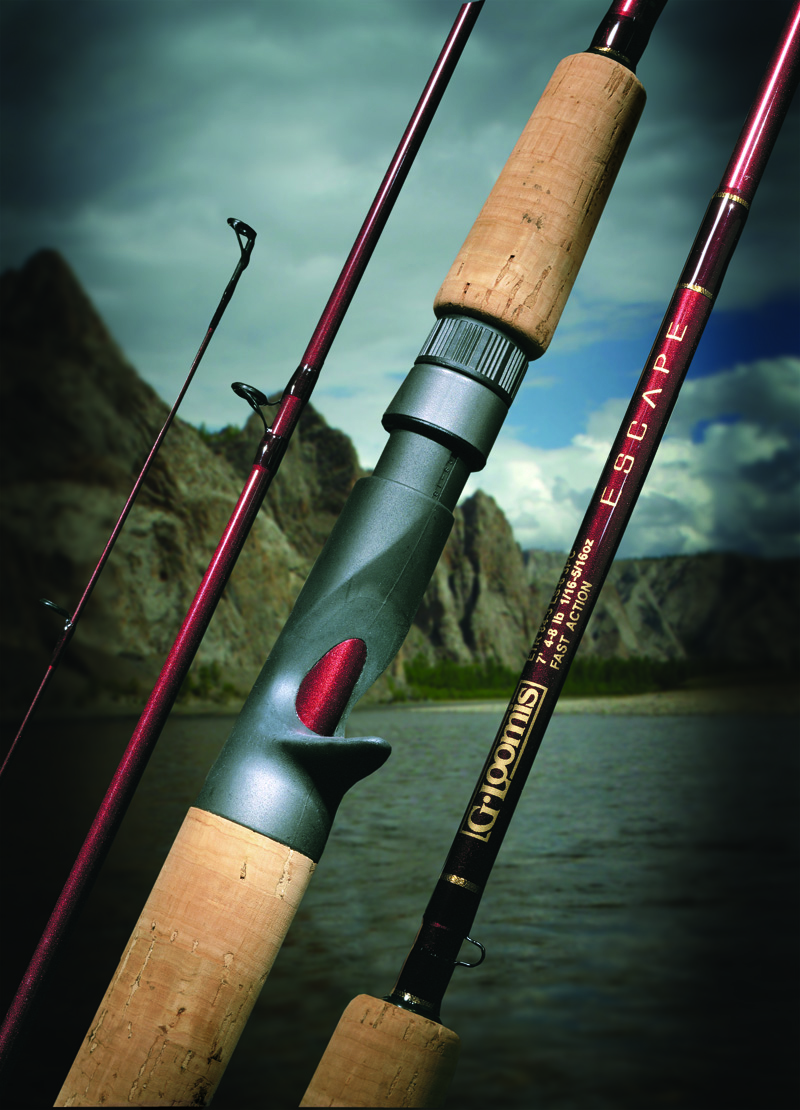 G loomis etr75 3uls4 escape travel fishing 3 piece for 3 piece fishing rod