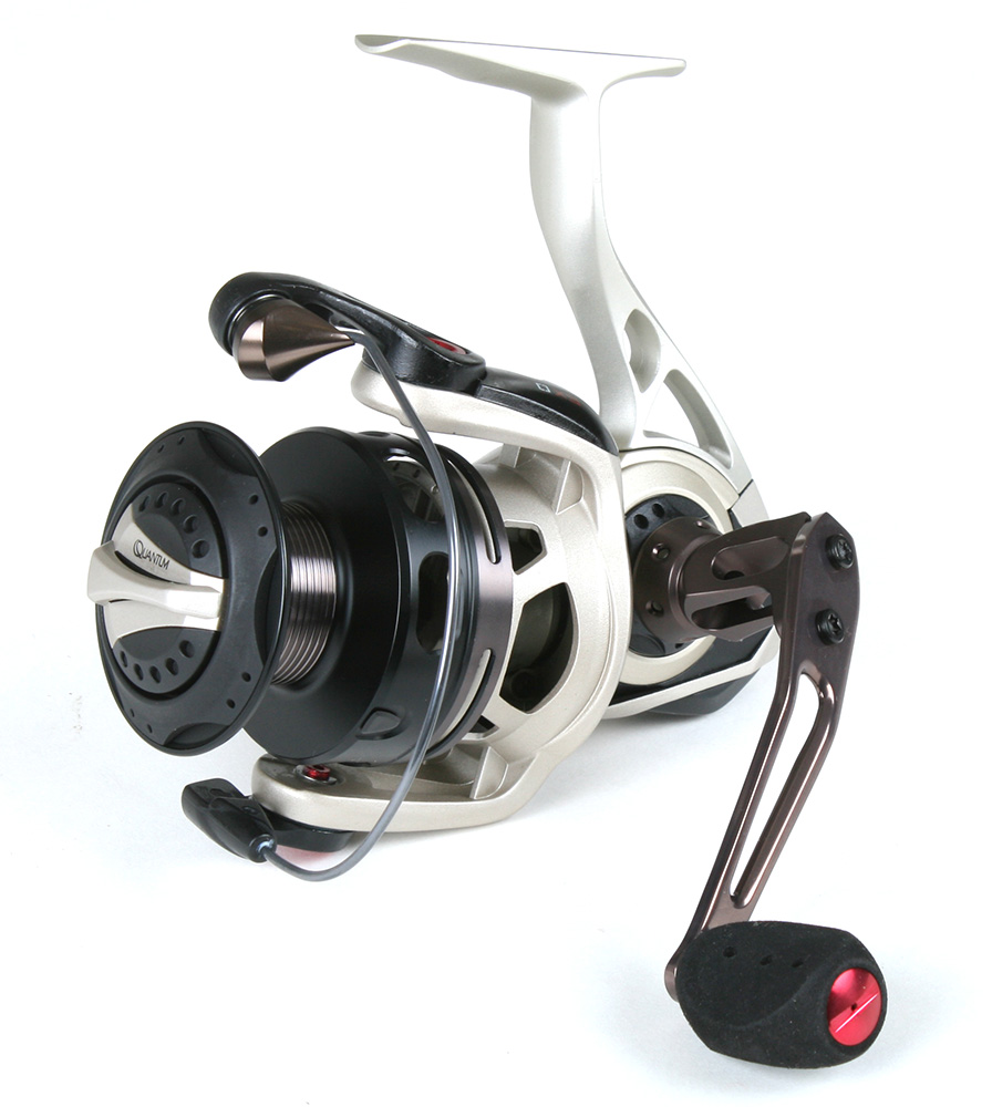 Quantum ex40pti exo pti freshwater spinning reel on sale for Freshwater fishing reels