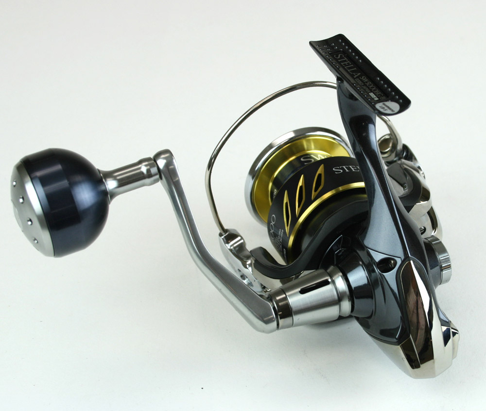 New shimano stella swb stl5000swbhg saltwater spinning for Stella fishing reel