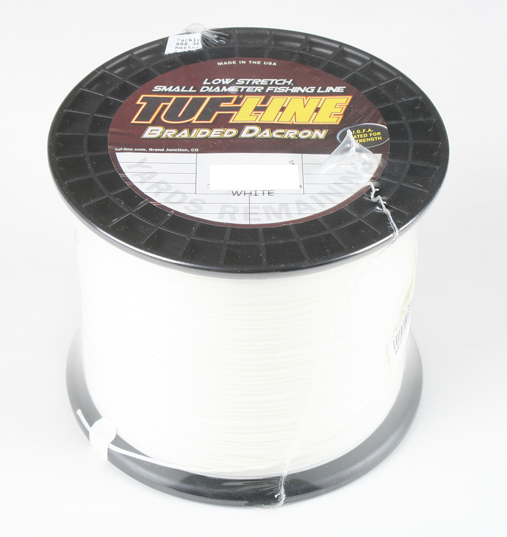 Tuf line 80 lb braided dacron 600 yards ebay for 20 lb braided fishing line
