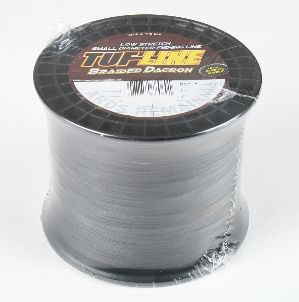 Tuf line 80 lb braided dacron 600 yards ebay for Dacron fishing line